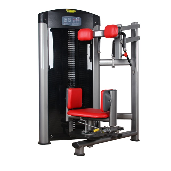 Commercial gym exercise equipment life fitness