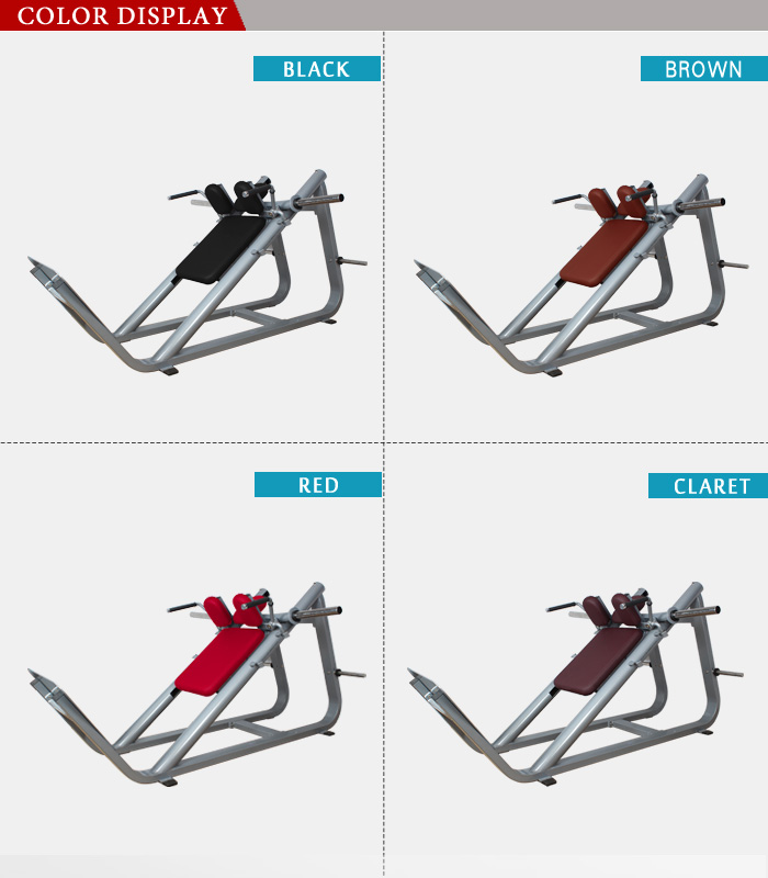 BFT3040B Incline Hack Squat Hammer Strength Exercise 45